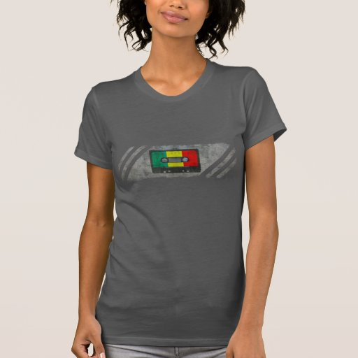 Urban reggae cassette tee shirt