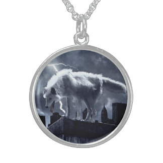 Urban Wolf Sterling Silver Necklace