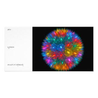 Urchin Customized Photo Card