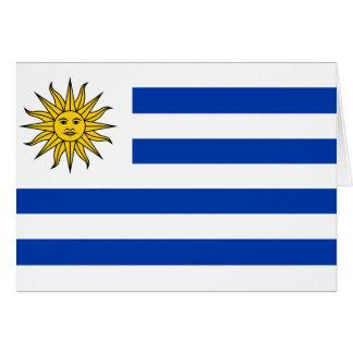 Uruguay Flag Card