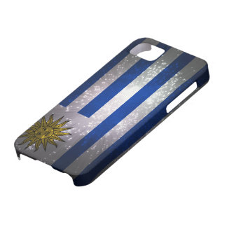 Uruguay Flag Firework iPhone 5 Cover