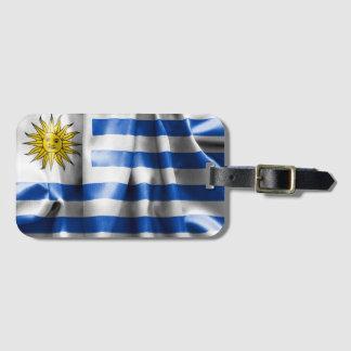 Uruguay Flag Luggage Tag