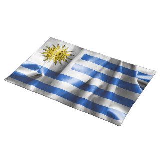 Uruguay Flag Place Mat