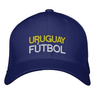 URUGUAY FUTBOL EMBROIDERED HAT