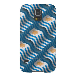 Uruguay Waving Flag Case For Galaxy S5