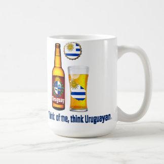 Uruguayan beer mug