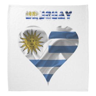 Uruguayan flag bandana