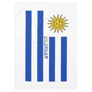 Uruguayan flag tablecloth