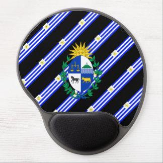 Uruguayan stripes flag gel mouse pad