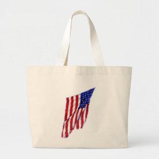 US Flag Jumbo Tote Bag
