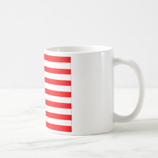 US Flag Basic White Mug