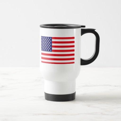 US FLAG Travel/Commuter Mug