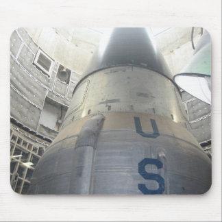 US ICBM Nuclear Missle Mouse Pad
