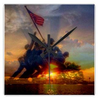 us marines clock