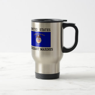 US Merchant Marine Stainless Steel Travel Mug