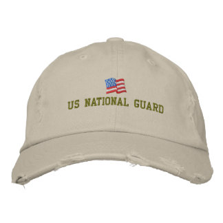 US National Guard Embroidered Hat