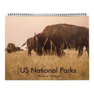 US National Parks Wall Calendars