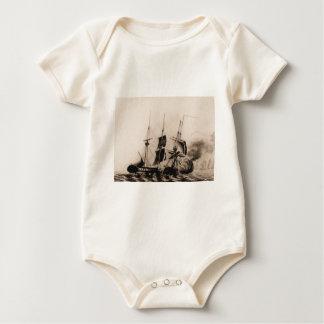 US Ship Wasp 1806 Baby Bodysuit
