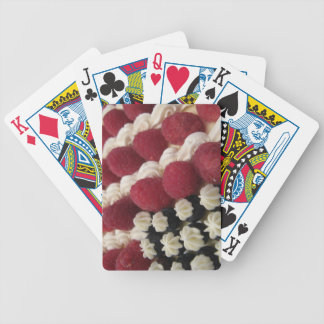 usa american berries and cream bicycle playing cards