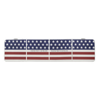 USA American Flag 4th of July Personalized Custom Beer Pong Table