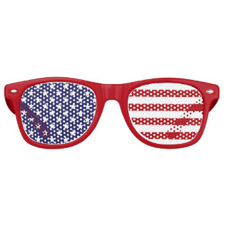 USA American Flag - Stars and Stripes - Old Glory Retro Sunglasses