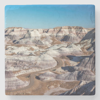 USA, Arizona, Petrified Forest National Park Stone Coaster