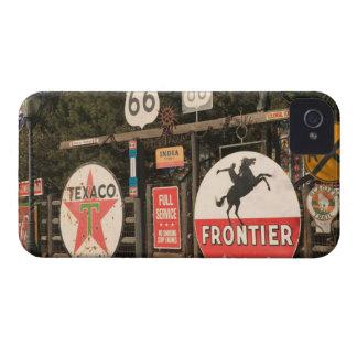 USA, Arizona, Sedona: Antique Advertising Signs iPhone 4 Cases