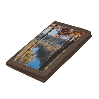 USA, Arkansas, War Eagle, Hobbs State Park Tri-fold Wallet