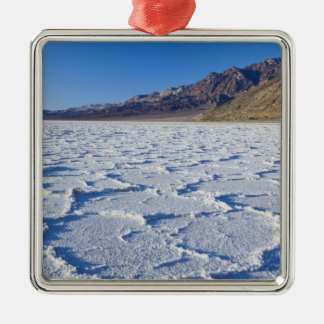 USA, CA, Death Valley NP, Salt Formations at Christmas Ornament