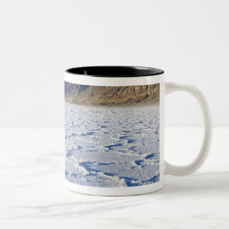 USA, CA, Death Valley NP, Salt Formations at Two-Tone Coffee Mug