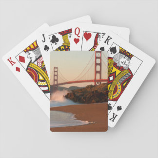 USA, California. Golden Gate Bridge View Playing Cards