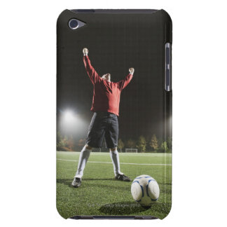 USA, California, Ladera Ranch, Football player 2 iPod Touch Cover