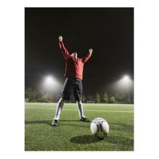 USA, California, Ladera Ranch, Football player 2 Postcard