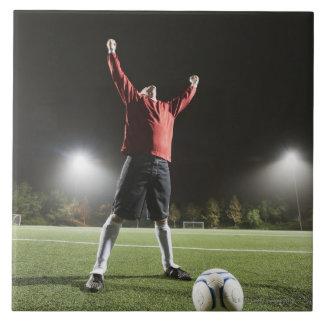 USA, California, Ladera Ranch, Football player 2 Tile