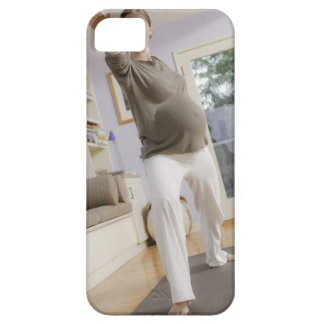 USA, California, Los Angeles, expectant mother iPhone 5 Cover