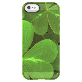 USA, California, Muir Woods. Close-up of clover Permafrost® iPhone SE/5/5s Case