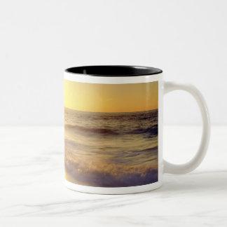 USA, California, San Diego. La Jolla Shores Two-Tone Coffee Mug