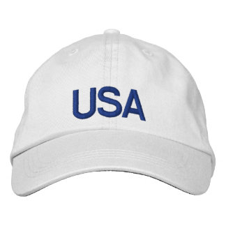 USA Cap Embroidered Hat