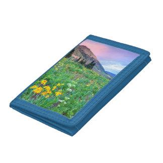 USA, Colorado, Crested Butte. Landscape 2 Tri-fold Wallet