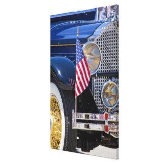 USA, Colorado, Frisco. Vintage Packard auto Stretched Canvas Prints