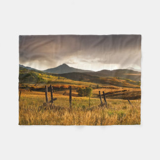 USA, Colorado, San Juan Mountains Fleece Blanket