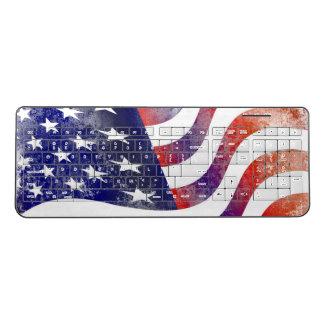 USA Custom Wireless Keyboard