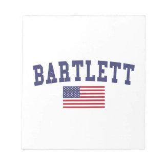 USA Flag Bartlett TN Notepad