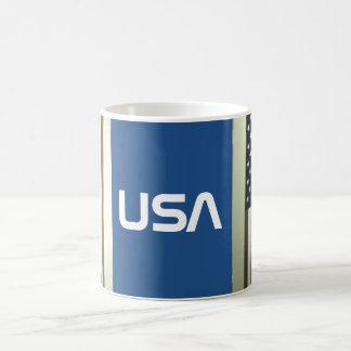 USA FLAG BASIC WHITE MUG