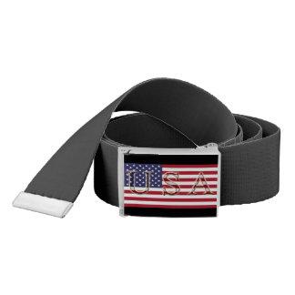 USA Flag Belt