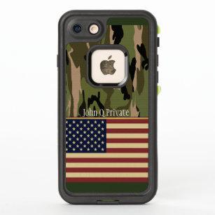 USA Flag Camo Name Template