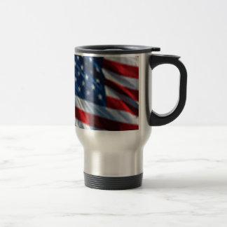 USA Flag Coffee Mugs