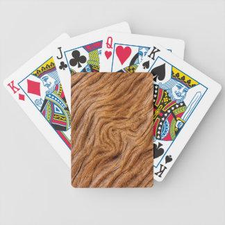 USA, Georgia, Jekyll Island, Abstract Bicycle Playing Cards
