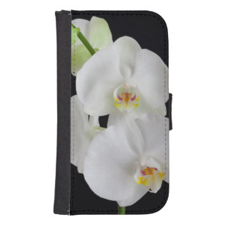 USA, Georgia, Savannah, Cluster Of Orchids Samsung S4 Wallet Case