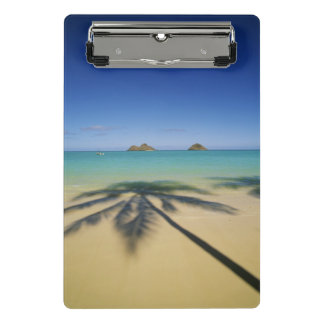 USA, Hawaii, Kailua. Lanikai Beach Mini Clipboard